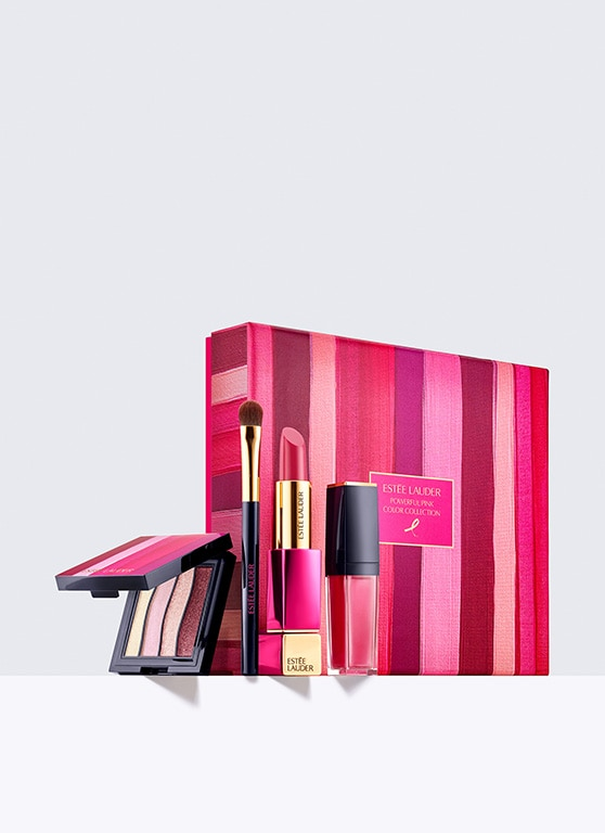 coffret de maquillage collection ruban rose 2018 estee lauder france e commerce site. Black Bedroom Furniture Sets. Home Design Ideas